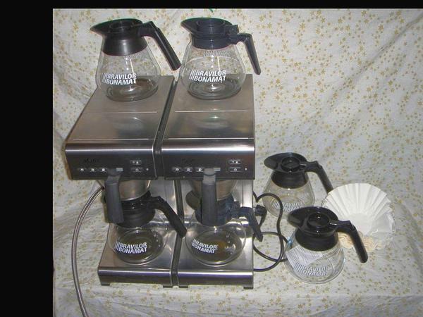 bonamat matic twin gastro kaffeemaschine mit wasseranschluss in michelau kaffee. Black Bedroom Furniture Sets. Home Design Ideas