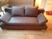 Braunes Sofa / Schlafsofa /