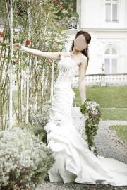 Brautkleid - französische Spitze