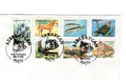 Briefmarken, Tiere&Blumen,