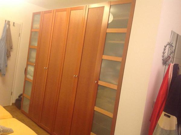 brinkmann mediano schlafzimmerschrank kleiderschrank birnbaumfarbig in d sseldorf schr nke. Black Bedroom Furniture Sets. Home Design Ideas