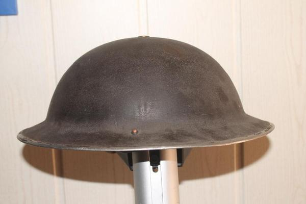 britischer stahlhelm tellerhelm ww2 1941 stempel brodie mk2 in fl rsheim sonstige. Black Bedroom Furniture Sets. Home Design Ideas