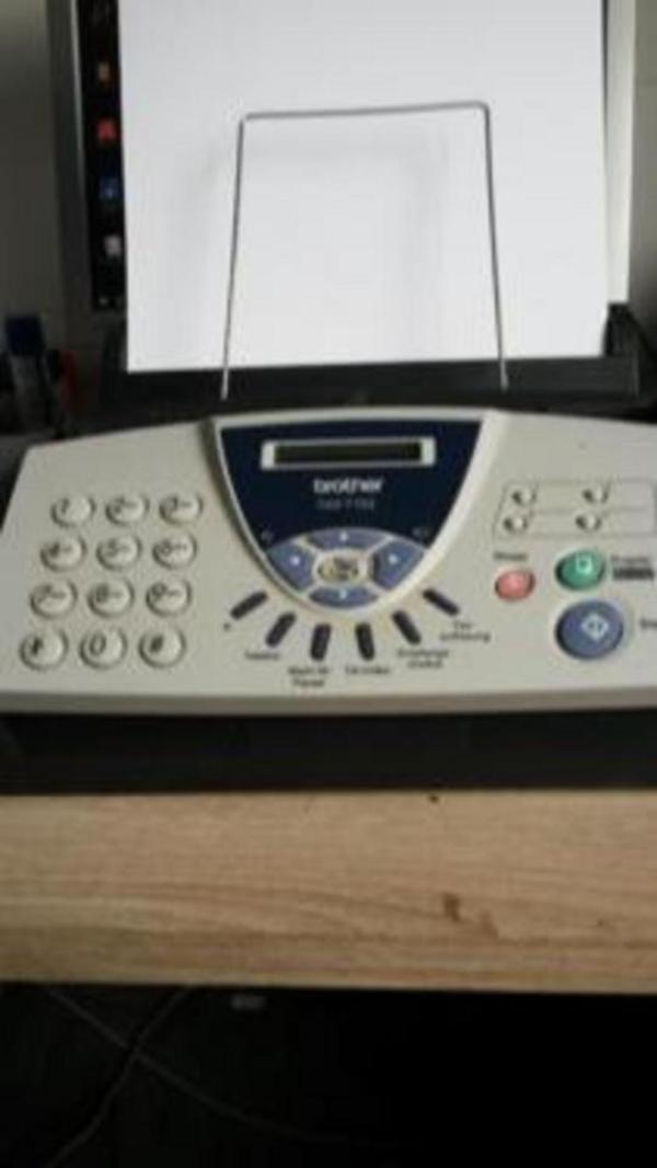 brother fax t102 in karlsruhe faxger te kaufen und verkaufen ber private kleinanzeigen. Black Bedroom Furniture Sets. Home Design Ideas