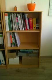 Bücherregal, Buche-Hell,