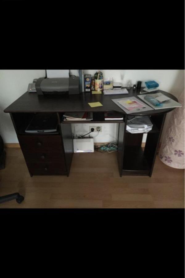 b ro schreibtisch in sandhausen b rom bel kaufen und verkaufen ber private kleinanzeigen. Black Bedroom Furniture Sets. Home Design Ideas