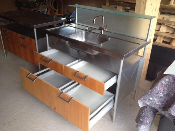 edelstahl original neu und gebraucht kaufen bei. Black Bedroom Furniture Sets. Home Design Ideas