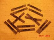 Bundeswehr Namensschilder oliv