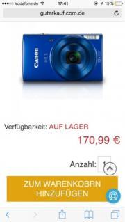 Canon Kamera mit