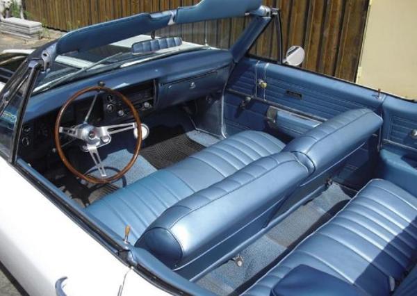 voiture chevrolet chevelle cabrio occasion de 1968 pour 13300. Black Bedroom Furniture Sets. Home Design Ideas