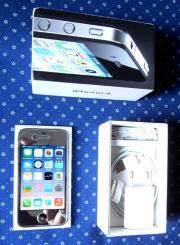 Chromfarbenes Apple iPhone