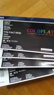 COLDPLAY Tickets Stehplatz