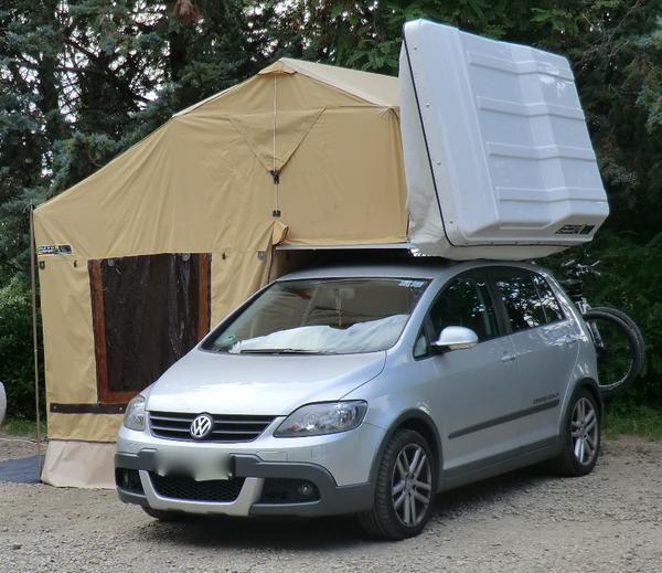 biete wenig gebrauchtes dachzelt der marke autocamp mit. Black Bedroom Furniture Sets. Home Design Ideas