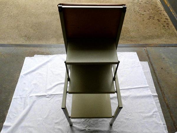 ddr hocker mit leiter klapphocker in bad freienwalde haushaltsger te hausrat alles. Black Bedroom Furniture Sets. Home Design Ideas