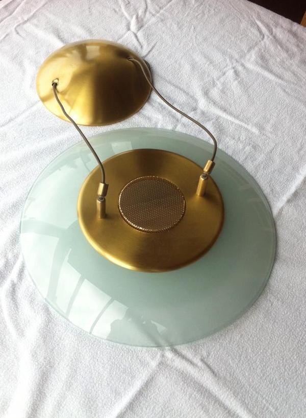 dekorative h ngelampe mit passender wandleuchte f r 35 euro in g tzis lampen kaufen und. Black Bedroom Furniture Sets. Home Design Ideas