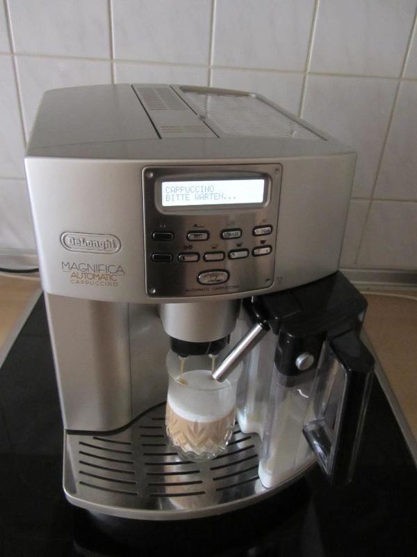 delonghi magnifica automatic cappuccino kaffeevollautomat. Black Bedroom Furniture Sets. Home Design Ideas