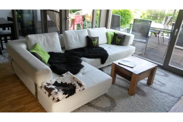 designer couch ecksofa wei weiss schlafcouch in brunnthal polster sessel couch kaufen und. Black Bedroom Furniture Sets. Home Design Ideas