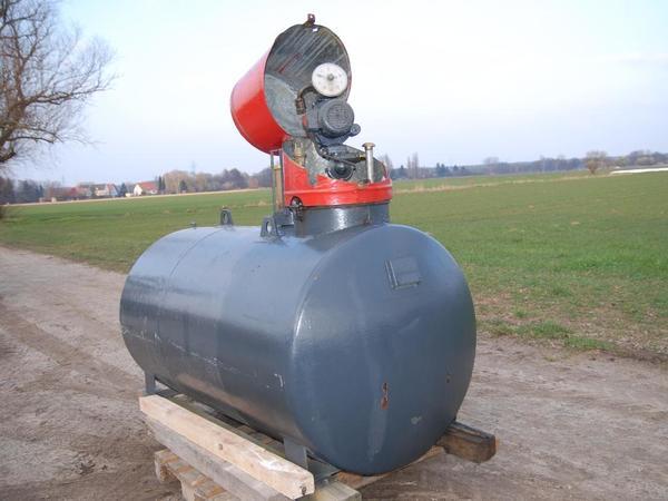 Diesel Tankanlage, Stahltank mit Zapfanlage, 1500 lt. in Darmstadt gebraucht kaufen  64291 Darmstadt