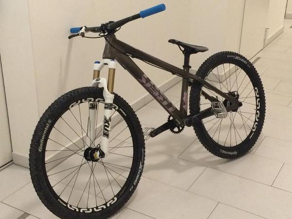 dirt bike trek ticket signature in weihenzell mountain. Black Bedroom Furniture Sets. Home Design Ideas