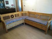 eckbank massivholz haushalt m bel gebraucht und neu kaufen. Black Bedroom Furniture Sets. Home Design Ideas