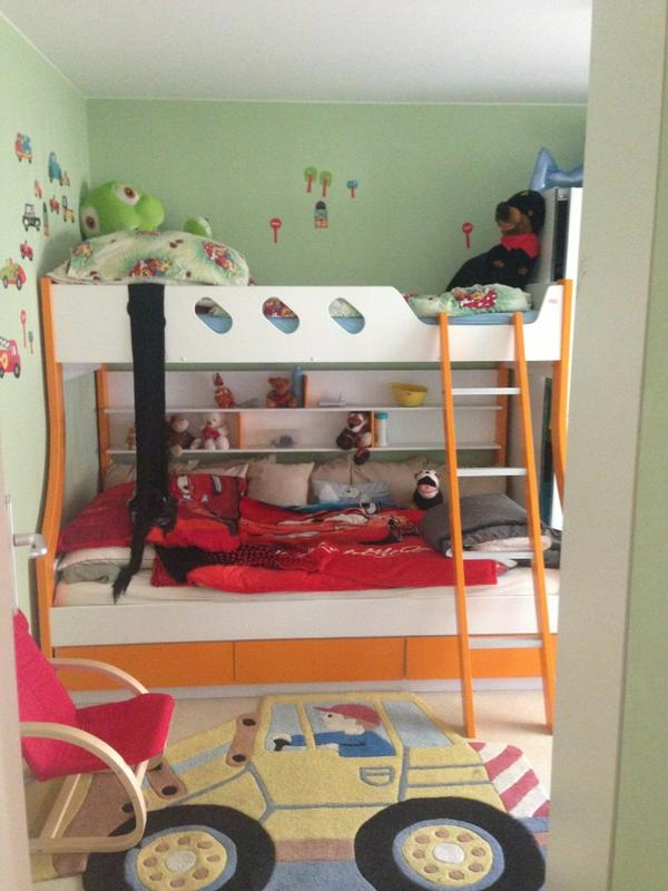doppel hochbett viele extras in wiesloch kinder. Black Bedroom Furniture Sets. Home Design Ideas