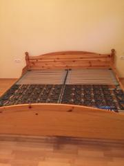 Doppelbett Pinie 200x200