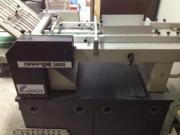 Druckereiauflösung Heftmaschinen Faltmaschine