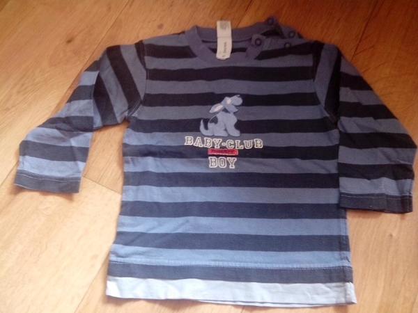 Gebraucht, dunkel - hellblau gestreifter Pullover von C&A Gr. 86 gebraucht kaufen  33659 Bielefeld