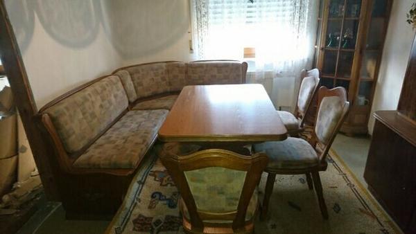 eckbank rustikal kaufen gebraucht und g nstig. Black Bedroom Furniture Sets. Home Design Ideas