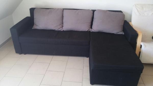 ecksofa mit schlaffunktion und bettkasten in bad rappenau polster sessel couch kaufen und. Black Bedroom Furniture Sets. Home Design Ideas