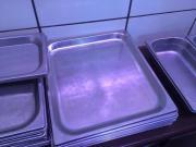 Edelstahlplatten aus Metzgerei