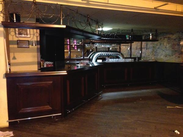 edle bar theke tresen vollholz 9 meter lang in bickendorf gastronomie ladeneinrichtung. Black Bedroom Furniture Sets. Home Design Ideas