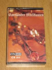 Egerländer Musikanten- Musikkassette