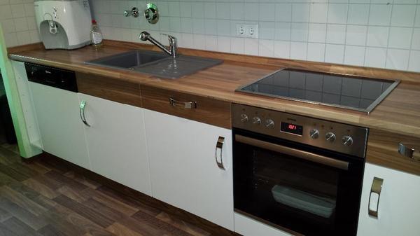 gesamtl nge 1 seite 280cm 2 seite 220cm k hlschrank mit gefriertruhe sp lmaschine herd. Black Bedroom Furniture Sets. Home Design Ideas
