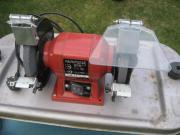 Elektrische Schleifmaschine, Doppelschleifer,