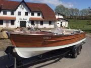 Elektroboot Holzelektroboot Holzboot
