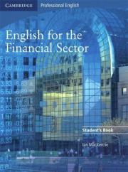 English for the Financial Sector. Students Book English for the Financial Sector. (Englisch) English for the Financial Sector. Students Book Gebraucht 20,- D-77815Bühl Heute, 10:51 Uhr, Bühl - English for the Financial Sector. Students Book English for the Financial Sector. (Englisch) English for the Financial Sector. Students Book Gebraucht