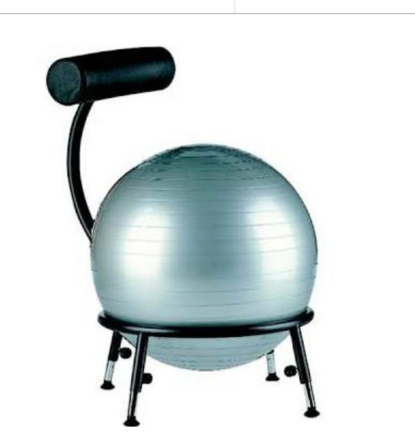 ergonomischer sitzball schreibtischstuhl f r kinder in. Black Bedroom Furniture Sets. Home Design Ideas