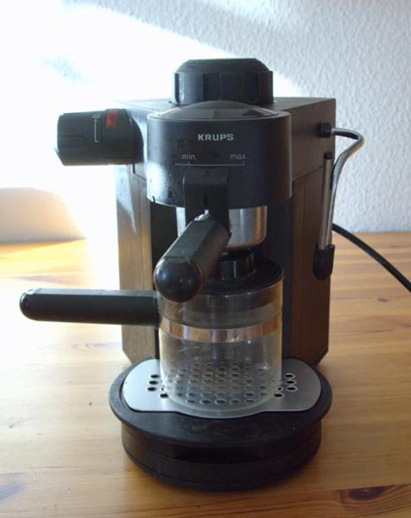 krups espresso kaufen gebraucht und g nstig. Black Bedroom Furniture Sets. Home Design Ideas