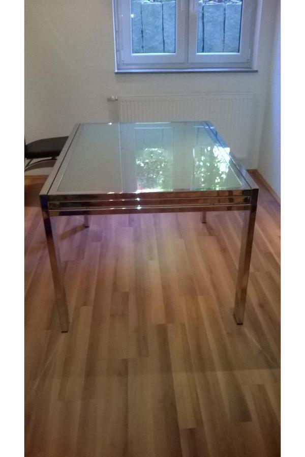 glas esstisch neu und gebraucht kaufen bei. Black Bedroom Furniture Sets. Home Design Ideas