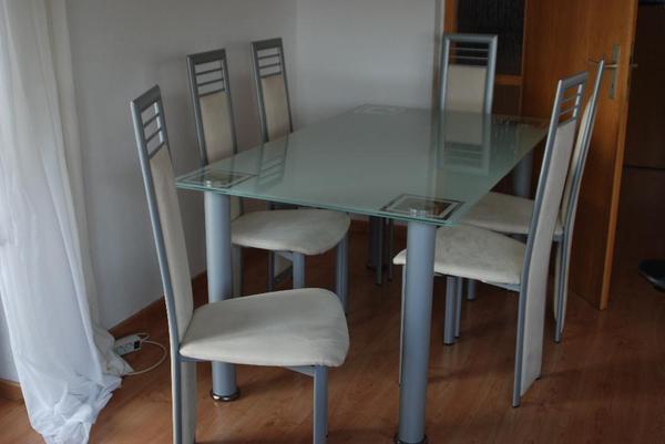 glastisch esstisch neu und gebraucht kaufen bei. Black Bedroom Furniture Sets. Home Design Ideas
