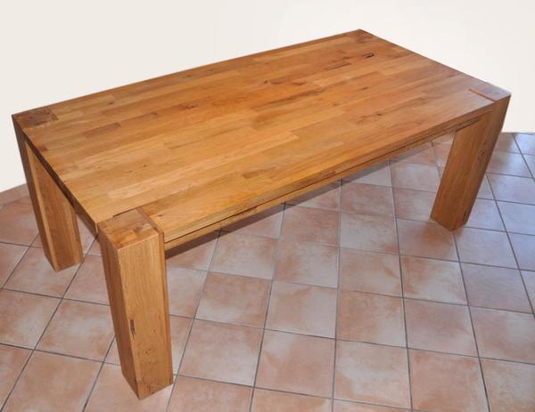massivholz esstisch neu und gebraucht kaufen bei. Black Bedroom Furniture Sets. Home Design Ideas