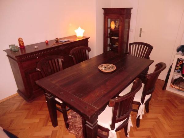 sideboard kolonialstil kaufen gebraucht und g nstig. Black Bedroom Furniture Sets. Home Design Ideas
