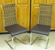 Esszimmerstühle, Freischwinger, Hochlehner