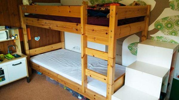 massives hochbett neu und gebraucht kaufen bei. Black Bedroom Furniture Sets. Home Design Ideas