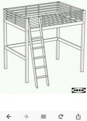 hochbett 140x200 haushalt m bel gebraucht und neu. Black Bedroom Furniture Sets. Home Design Ideas