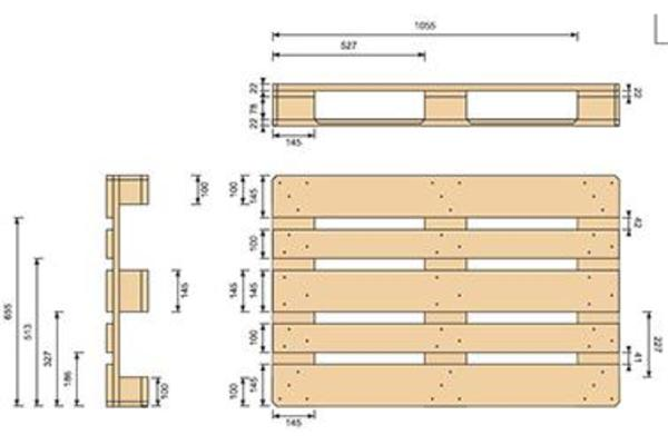 europaletten epal top preis eur7 90 st ck cif in berlin alles m gliche gewerblich kaufen und. Black Bedroom Furniture Sets. Home Design Ideas