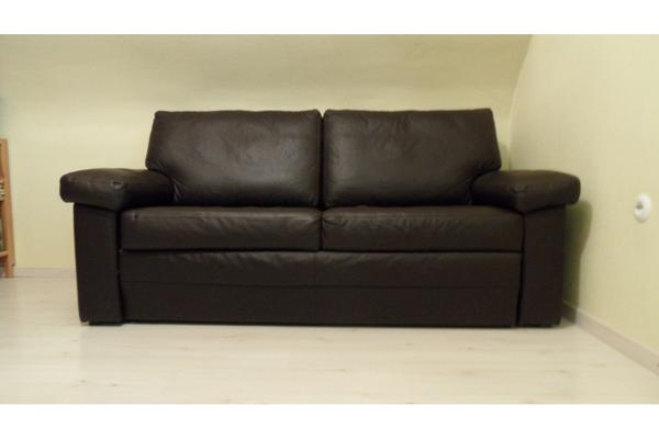 exclusive schlafcouch echt leder in f rth polster sessel couch kaufen und verkaufen ber. Black Bedroom Furniture Sets. Home Design Ideas