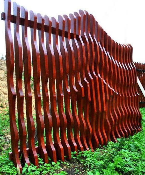 Gartenzaun Holz Kesseldruckimprägniert ~ Exklusiv 3D Holzzaun Zaunelemente, Tore Gartenzaun, holz zaun