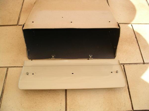 oldtimer teile fach handschuhfach mit klappe nsu prinz 4. Black Bedroom Furniture Sets. Home Design Ideas
