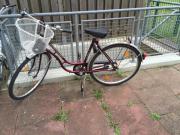 Fahrrad anzubieten